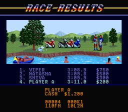 Road rash5.png - игры формата nes