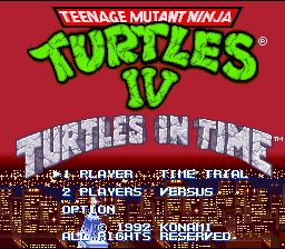TMNT IV - Turtles in time.png - игры формата nes