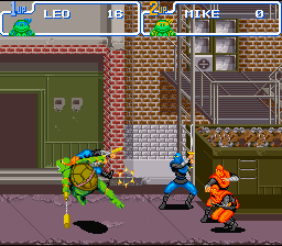 TMNT IV - Turtles in time2.png - игры формата nes