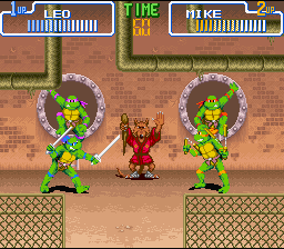 TMNT IV - Turtles in time3.png - игры формата nes