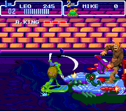 TMNT IV - Turtles in time4.png - игры формата nes
