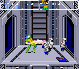 TMNT IV - Turtles in time5.png - игры формата nes