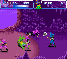 TMNT IV - Turtles in time7.png - игры формата nes